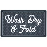 Wash, Dry & Fold Doormat