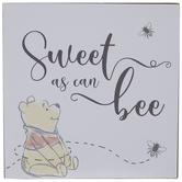 Sweet As Can Bee Wood Decor