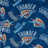 NBA OKC Thunder Fleece Fabric