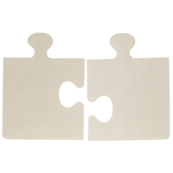 Puzzle Piece Wood Shapes