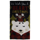 Beary Christmas Kitchen Towel