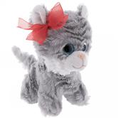 Gray & White Cat Plush