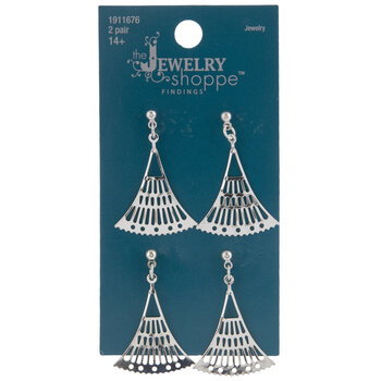 Flared Chandelier Earrings