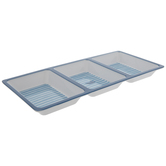 Southern Marsh Striped Divided Tray