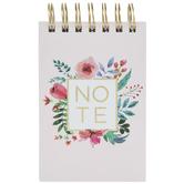 Floral Frame Spiral Notebook