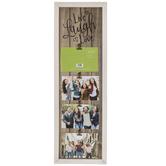 Live Laugh Love Wood Clip Collage Frame