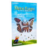 Monarch Butterfly Metal Earth 3D Model Kit