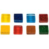 Bright Cobblestone Glass Tiles