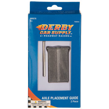 Derby Car Axle Placement Guide