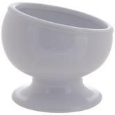 White Asymmetrical Bowl
