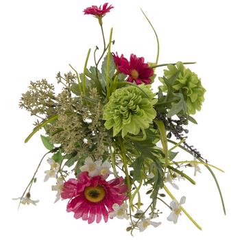 Multi Colors Wild Flowers In Mason Jar