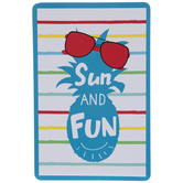 Sun And Fun Jumbo Playing Cards