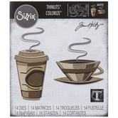 Sizzix Thinlits Cafe Colorize Dies