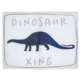 Dinosaur Xing Canvas Wall Decor
