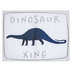 Dinosaur Xing Canvas Wall Decor