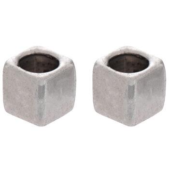 Cube Metal Beads - 6mm