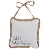 Shhhh... Baby Sleeping Pillow Door Hanger