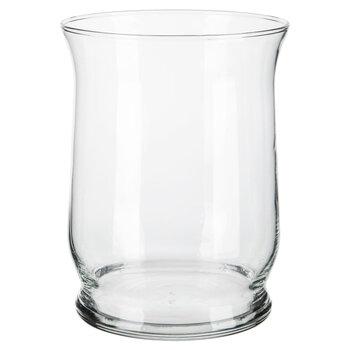 Glass Hurricane Vase