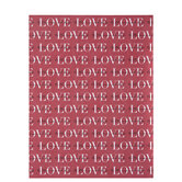 "Love To The Moon Scrapbook Paper - 8 1/2"" x 11"""