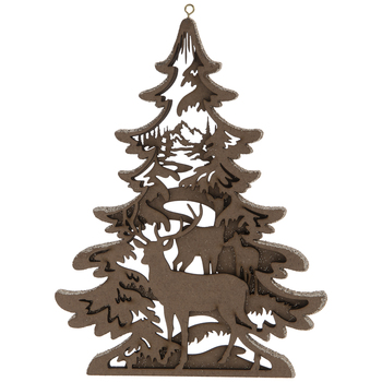 Deer Dimensional Tree Ornament