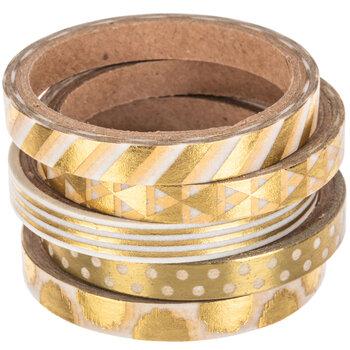 Gold Skinny Washi Tape