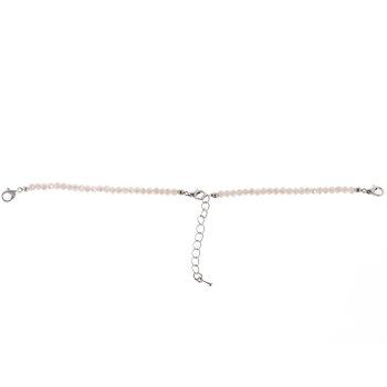 Ecru Rondelle Connector Bracelet