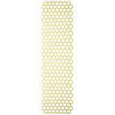 Yellow Honeycomb Table Runner
