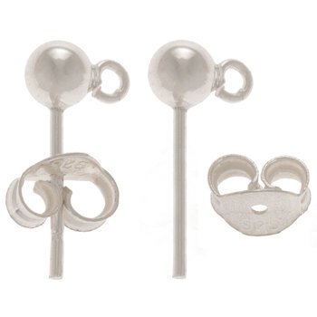 Sterling Silver Ear Wire Posts
