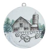 Brown Barn Wreath Embellishment