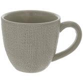 Gray Textured Mug