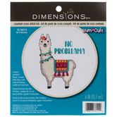 No Probllama Counted Cross Stitch Kit