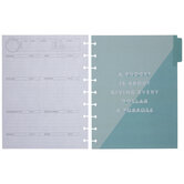 Bright Budget Happy Planner Extension