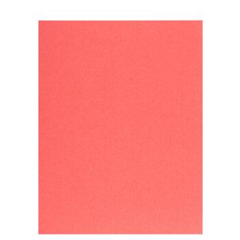 "Coral Textured Cardstock Paper - 8 1/2"" x 11"""