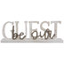 Be Our Guest Wood Decor