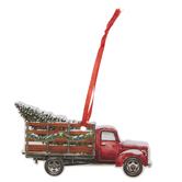 Pick Up Truck & Tree Gift Tags