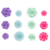 Bright Flower Embellishments