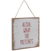Alexa Wrap The Presents Ornament