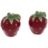 Strawberry Salt & Pepper Shakers