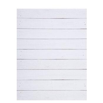 "White Shiplap Scrapbook Paper - 8 1/2"" x 11"""