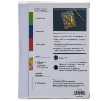 Rainbow Scales Cricut Joy Insert Cards - A2