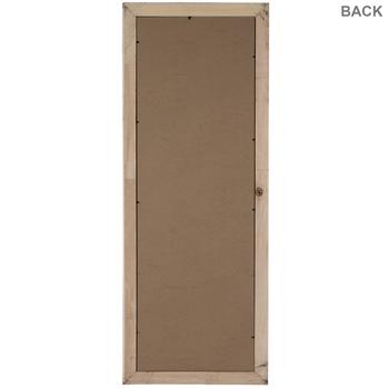 Rustic Gray Prairie Wood Wall Frame