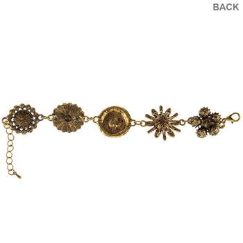 Floral Connector Bracelet