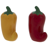 Chili Pepper Salt & Pepper Shakers