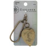 Anchor Magnifying Metal Pendant