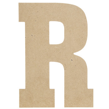 "Wood Letter R - 13"""