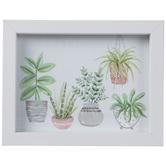 Potted Botanicals Framed Wall Decor