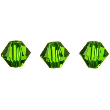 Fern Green Xilion Bicone Beads - 4mm