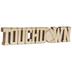Touchdown Wood Cutout