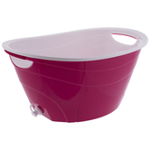 Pink Double Walled Drink Container