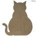 Life Is Better With A Cat Wood Decor
